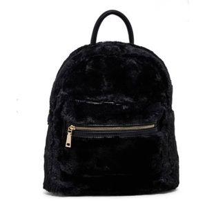 Urban Expressions Vegan Faux Fur Backpack